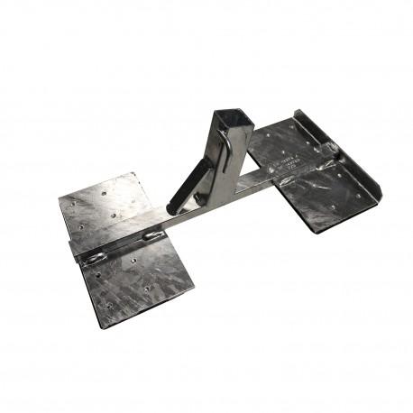 Support potelet de rives, entraxe maxi 2200mm