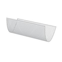 Filet à marcher Polyamide, Ø4.75mm, mailles carrées 50mm nouées, coloris Blanc