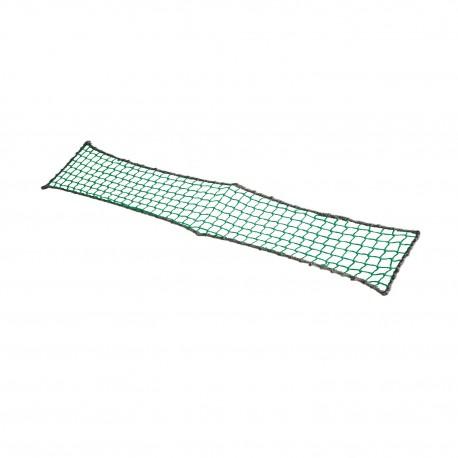 Filet à marcher Polyéthylène, Ø4mm, maille 50mm nouées, coloris Vert