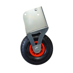 Inflatable wheels for transportable goal (for 1 goal)