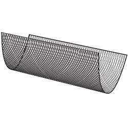 Filet à marcher Polyamide, Ø4.75mm, maille 50mm carrées nouées, coloris Noir