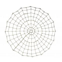 Filet Spiderman : Polypropylène Ø16mm, mailles carrées nouées