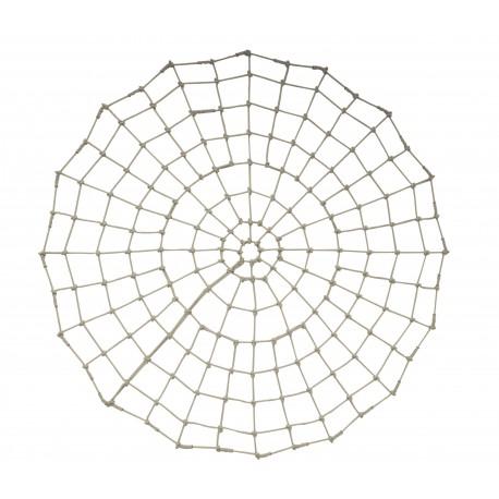 Filet Spiderman : en PP Ø16mm, mailles carrées nouées