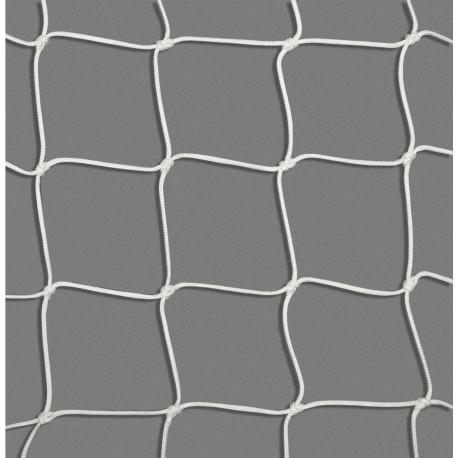 Filet de sécurité blanc en polyamide - maille 100 mm