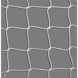 White PA railing net,