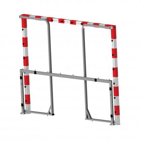 Buts de handball Aluminium 80x80mm palstifié  - La paire