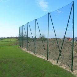 Poteaux de pare-ballons 6m hors sol