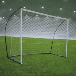 Transportable 3 in 1 soccer goal - 2,40 m x 1,80 m