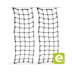 Black PP net, core Ø16mm, square mesh 250mm