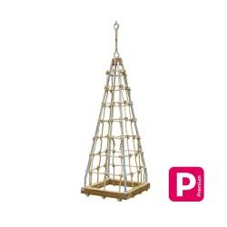 Pyramide en cordage PP Texturé