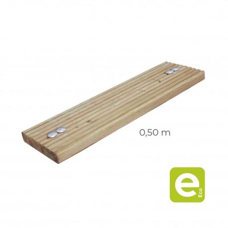 Grooved gangway board