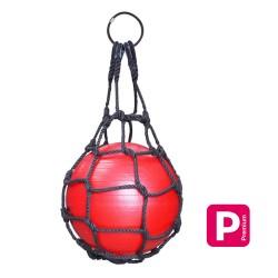 Wrecking Ball : Sac Ø600mm avec boule en PVC  rouge