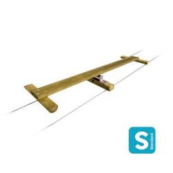 Pont à bascule, module en bois autoclave classe 4 longueur 2m