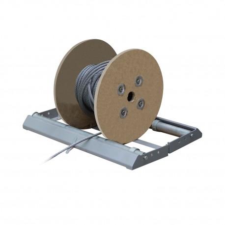Dérouleur pliable pour touret de câble - de 250ml ou 500ml