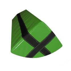 Le Pion : Obstacle en mousse à suspendre avec anneau de suspente - Vert - 0.90m