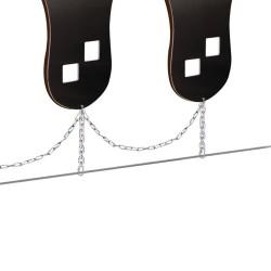 Option chaîne galvanisée pour liaisonner les modules entre eux - 1m