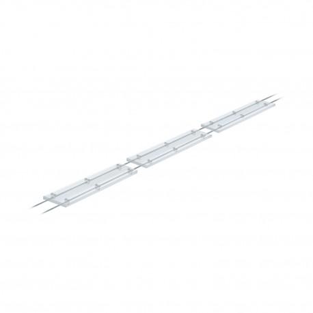 Planche de passerelle funambule, rainurée, largeur 145mm, épaisseur 29mm + acces